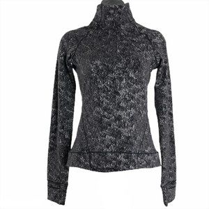 Lululemon Outrun the Elements 1/2 Zip Misted Jacqu
